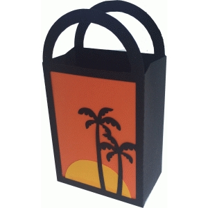 sunset gift bag