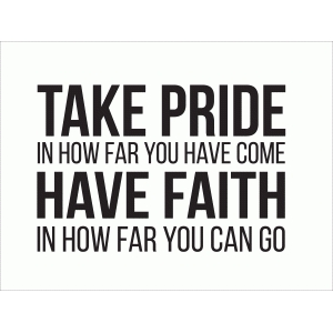 take pride 3x4 quote card