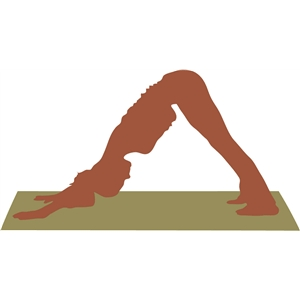 yoga downward dog