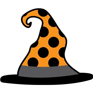dot witch hat