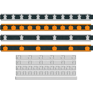 halloween ribbon border