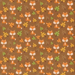autumn fox paper