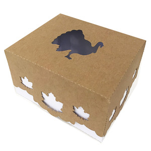 turkey box with lid