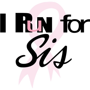 i run for sis phrase