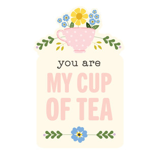 cup of tea tag