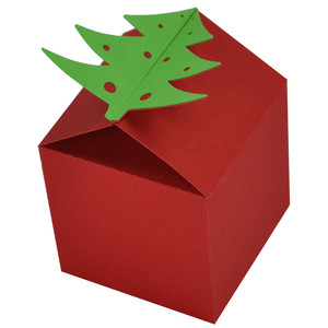 christmas tree topper gift box