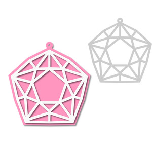 gem ornament - tag
