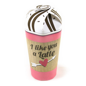 i like you a latte treat cup