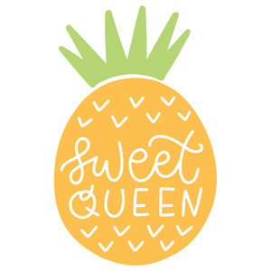 sweet queen pineapple