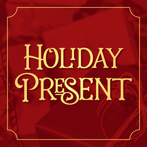 holiday present font family