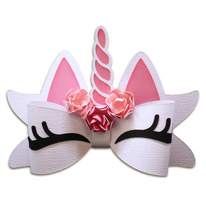 3d unicorn bow