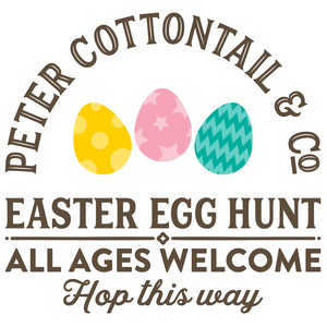 peter cottontail & co sign