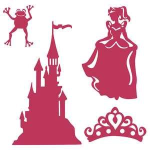 princess puppet show set