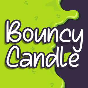 bouncy candle