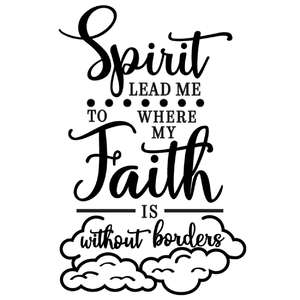 spirit lead faith without borders