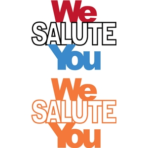 we salute you phrase