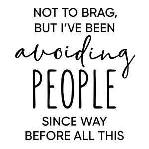 not to brag - avoiding people phrase