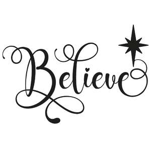 believe star word