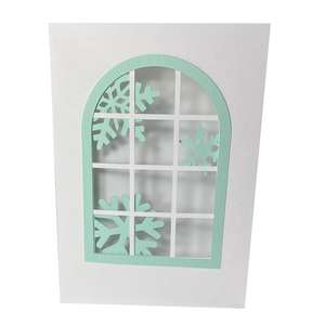 SNOWFLAKE WINDOW CARD