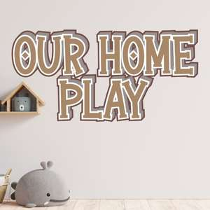 our home play