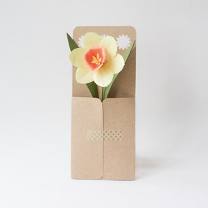 daisy flower envelope by farren celeste