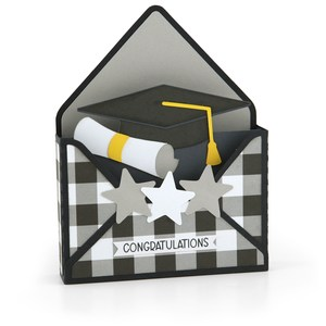 box card envelope graduation