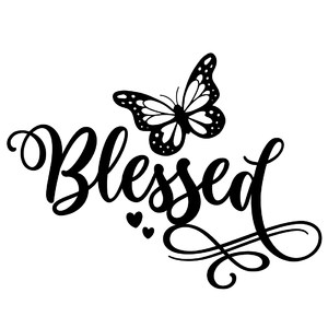 blessed butterfly word