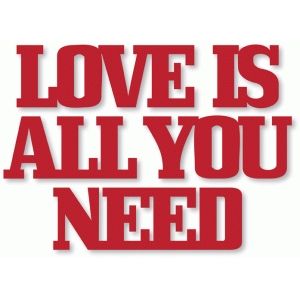 'love is all you need'