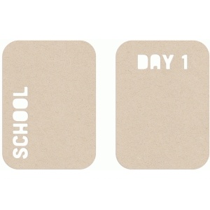 school day 1 album cards