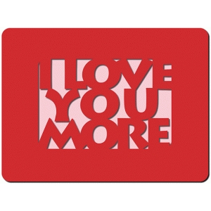 i love you more 3x4 card