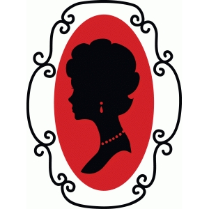 lady silhouette