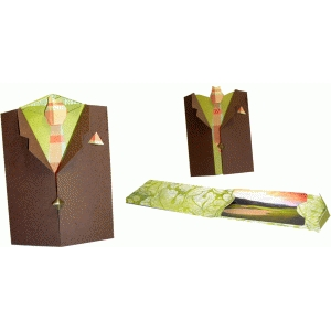 suit jacket giftcard pocket
