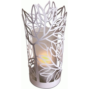 summer tree papercut cylinder lantern