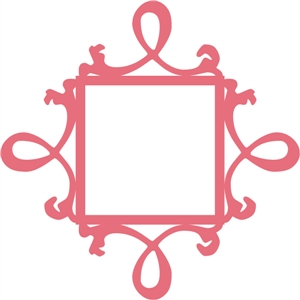 decorative square frame