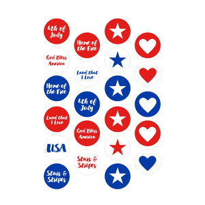 usa planner stickers