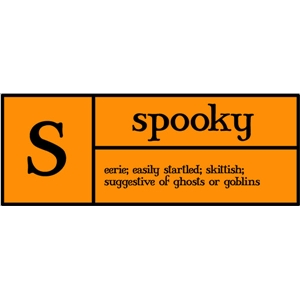 s is for spooky pc
