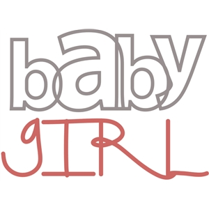 word duos-baby girl
