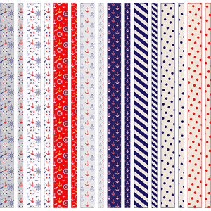 nautical washi tapes