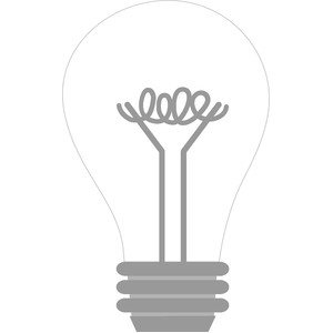 light bulb - hats off!