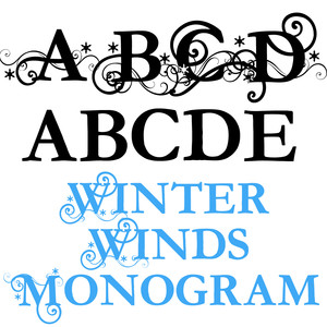 pn winter winds monogram