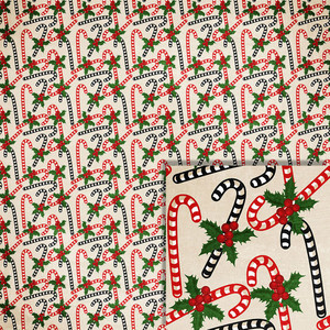 christmas candy canes background paper