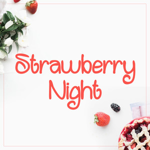 strawberry night font