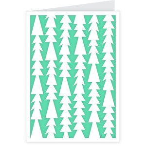 christmas tree card - a2 & a7