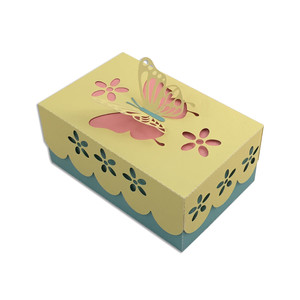 pop-up butterfly box