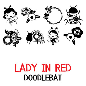 lady in red doodlebat