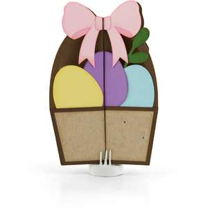 double gatefold card easter basket