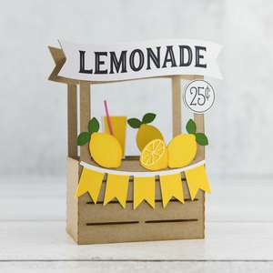 a2 box card lemonade stand
