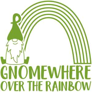 gnomewhere over the rainbow