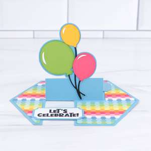 impossible card birthday balloons