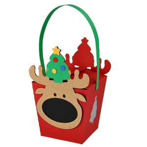 hanging mr. moose box ornament lantern